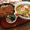 会津若松名物ソースカツ丼!「めでたいや」のラーメンは喜多方風?