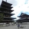 【法隆寺その1】大阪から大和路快速→バスで!国宝で世界最古の木造建築、五重塔・金堂