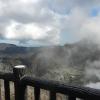 【箱根・大涌谷】硫黄ガスが噴出する上空をロープウェイで渡る!煙だらけで地獄の様な
