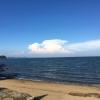 牛窓海水浴場から瀬戸内海の絶景が見れる?