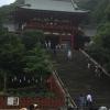 【鎌倉・鶴岡八幡宮】朱塗り建築が鮮やか!リスがたくさんいる?