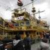 【箱根海賊船】芦ノ湖を遊覧!満席で座れないなら特別船室へ?